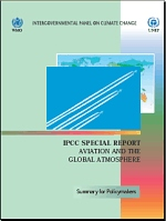 IPCC Aviation and the Global Atmosphere. Special Report 1999